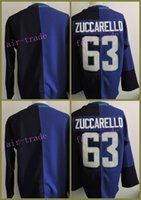 Wholesale Cup Mat Free Shipping - Team Europe 63# Mats Zuccarello Blue 2016 World Cup 2016 Cheap Hockey Jerseys Ice Winter Jersey All Stitched Free Shipping Size 48-56