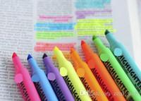 ingrosso art paint brushes-Pennarello 8 colori pennarello manga pennarelli artistici Pennello 5 pennarelli pennarello artistico 5 evidenziatori pennarelli (7)
