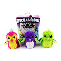 Wholesale Growing Animals Toy - Hatch Animals Egg Interactive Cute Fantastic Hatching Egg with Plush Animal Novelty Gag Toys Growing Hatchimals Eggs