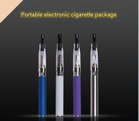 Wholesale Electronic Cigarette Blister Set - electronic cigarette set Ego ce4 blister packaging vape pens kit battery capacity 650mah atomizer vaporizer tank safe and Hot Sale
