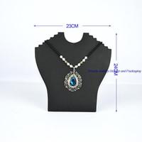 soportes de exhibición de la joyería del collar del cartón al por mayor-