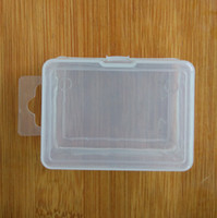 Wholesale Plastic Parts Storage Box - Transparent Plastic Storage Box For Coin Sample Container Jewelry Cosmetic Small Part Sundries Boxes Free Shipping