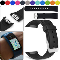 Para Samsung Gear Fit 2 SM-R360 Silicone Replacement Wristwatch Band Strap