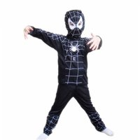 Wholesale Wholesale Batman Dresses - halloween costumes Kids Cosplay Costumes Spider Man Superman Batman Suit Kids Cosplay Dress Fancy Dress Halloween Costumes