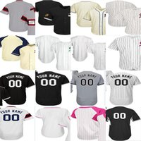Wholesale Womens Training - 2017 Customized Chicago White Jerseys Mother St. Patrick's Day USMC Training Mens Wome Womens Youth White Grey Black Jerseys Flex Cool