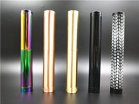 Wholesale Mechanical Fitters - Broadside Mod Double Tube Extended Edition Mechanical Mod fit 18650 Battery 510 RDA Atomizer E Cigarette DHL Free
