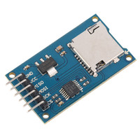 Carte spi sd Prix-1pc originale Micro Storage Board Mciro pour carte SD TF Memory Shield Module SPI Pour Top Vente US $ 10 pas de suivi