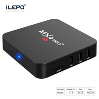 Wholesale Tv Version - MXQ Pro TV BOX S905X Quad Core 2G 16G Android 7.1 IPTV Box KD17.3 Version 4K OTT Set Top Media Player