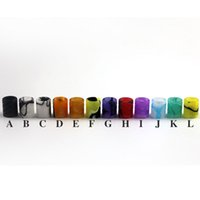 Wholesale Wholesale Acrylic Tips - Especially Drip Tips For E Cigs 510 Thread Drip Tip Only For Aspire Nautilus X Tank Acrylic Wide Bore Mouthpiece E-cigarette Accessories