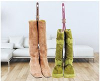 Wholesale Wholesale Boots Accessories - 3PC Lovely 50cm Plastic Long Boots Shaper Stretcher Trees Supporter Shaft Keeper Holder Organizer Storage Hanger Accessories