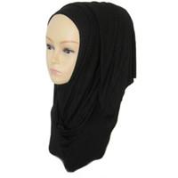 Wholesale Scarves Islamic Women - Muslim Women Hijabs 2016 New Arrival Female Scarf Cotton Jersey Foulard Islamic Scarf Cachecol Feminino 31 colors