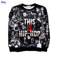 Wholesale Hip Hop Clothes For Women - Wholesale-[Amy] THIS IS HIP-HOP sweatshirt for Men Women rock hoodie print 3d mens street wear hip hop hoodie winter clothing 1267