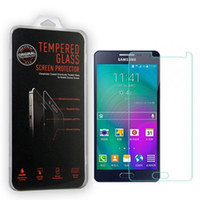 Wholesale Phone Z1 - Ultra Thin Tempered Glass Screen Protecter for Samsung Galaxy Galaxy E5 E7 Z1 Z3 Glass Protector for Samsung Phone Anti-scratch