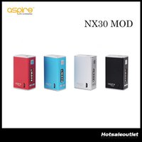 Wholesale perfect power - Authentic Aspire NX30 Mod 2016 NX30 2000 mAh Powered by a Built-in LiPo Battery Perfect Match with Low-profile Nautilus X Tank 100% Original