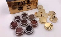 2016 Hot Kylie Jenner Make-up Geburtstag Edition Creme Shadow 8 Farben Dunkel / Taupe / Auburn / Ebenholz / Soft / Blonde Auge braun Make-up Lidschatten frei DHL