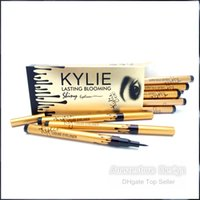 gold box blooms box - New Kylie Liquid Gold Birthday Edition Eyeliner Pencil Lasting Blooming Gold Box Long Lasting