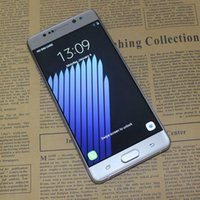 """Wholesale Note 8mp 8gb - Goophon Note 7 Quad Core MTK6580 Android 6.0 Note7 3G WCDMA 5.7"""" HD Curved Screen 1280*720 8MP Metal Frame Unlocked Cell Phones"""