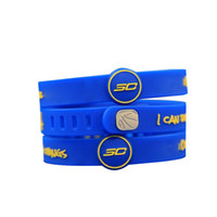 Wholesale Wristbands For Boys - Fashion Sports Basketball Jewelry Energy Wristband Curry Stylish Soft Silicone Colorful Bracelet for Boys and Girls E003