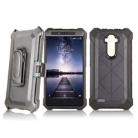 Wholesale armor screen for sale – best Hybrid Armor Shockproof Robot Case For LG Aristo LV3 Metropcs LG K20 Plus LV5 Metropcs Cover With Belt Clip Without Screen Film B