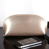 Wholesale Maquillage Korean - 2016 new Patent leather makeup make up bags zipper cosmetic bag small bolsa neceser maquillaje trousse maquillage femme A5