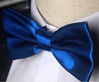 ingrosso legame di arco di trasporto di goccia-Uomini caldi di vendita Papillon Plain Commerce Tie Formal Concealed Lattice Multicolore Bowknot Bow Cravatte Drop Shipping Poliestere