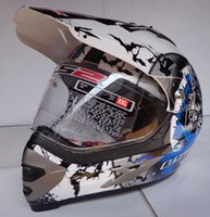 Wholesale Mx 433 - Free shipping OFF ROAD MOTORCYCLE HELMET with Visor and glasses LS2 MX 433