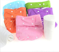 Wholesale Diaper Adults - 2016 new Solid Color Waterproof Adult Cloth Diaper for disabled old women and men ,reusable medical adult diaper Cloth Nappy Free Shipping