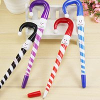 Wholesale Cheap Plastic Umbrellas - 2016 new Christmas pen with umbrella style, good for promotional gift cheap promotion gift brand novelty plastic umbrella ball pen