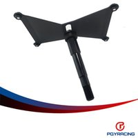Wholesale Camera Holders Kit - PQY RACING-ALUMINUM Front License Plate Holder Relocation Kit FOR 2015-16 WRX STi PQY-LPF51
