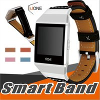 Wholesale ionic bracelets - For Fitbit Ionic Band Adjustable Leather Bands Bracelet Replacement Wrist Watch Band for Fitbit Ionic Watch