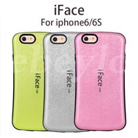 Wholesale Design Iface Cases - Grid iFace Case 2 in 1 New Design Best Protector Cover For iPhone 6 6s and Samsung Galaxy S7 edge S6 edge plus