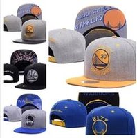 Wholesale Paisley Basketball - HOT 2017 Adjustable curry Snapback Hat many Snap Back Hats For Men Basketball Caps Cheap warriors Hat Adjustable men women bone Baseball Cap