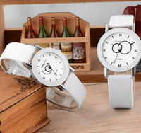 Wholesale couple watches korea for sale - Group buy Korea Couple watches Men Women s Wristwatch New Casual PU Leather Strap Couples Special Circle Pointer Dial Quartz Watch Sport Watches
