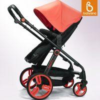Wholesale Stroller Shock Absorbers - Babysing baby car four wheel baby stroller shock absorbers light baby stroller