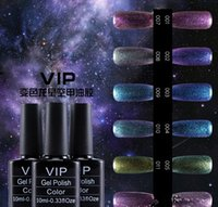 Wholesale Gel Nail Polish 12 - Shiny Bling Chameleon Star Gelish Nail Polish 10ml LED Gel 12 Colors Nail Gel High Quality
