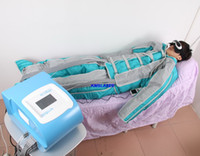 Wholesale Pants Machines - 24 Air Bags Air Pressure Pressotherapy Lymph Drainages Pressotherapy Slimming Machine Whole Body Massage With Pants And Sleeves
