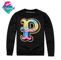 Wholesale White Pink Dolphin Sweatshirt - hip hop sweatshirt roller skateboards men's clothes Diamond Supply hoodie pink dolphin bbc billionaire boys club