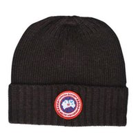 Wholesale Beaches Canada - hot Top quality fashion brand Canada men knitted hat classical sports skull caps women Winter beanies touca gorro Bonnet new color to choose