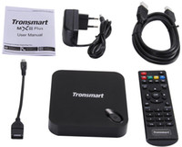 Wholesale Iptv Xbmc - New Tronsmart MXIII Plus 2G 8G Amlogic S812 Quad Core 2.0GHz Android TV Box 4K H.265 XBMC OTA 2.4G 5GHz Dual WiFi IPTV Media Player