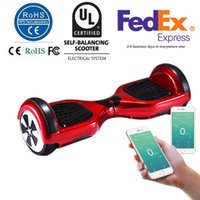 Wholesale 6 Inches Smart Balance Wheel Hoverboard Electric Skateboard Unicycle Drift Self Balancing Standing Scooter APP Control UL2272 CER