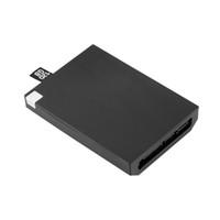 ince sabit sürücüler toptan satış-Freeshipping için 1 adet 120 GB Sabit Disk Disk XBOX 360 120G Slim Dahili Sabit Disk Siyah