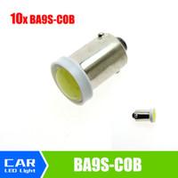 luces interiores de camiones al por mayor-Alta calidad BA9S T4W COB Wedge Side Light Bulb Indicador de lectura del camión de remolque lámparas interiores para coche 12 v