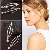 Wholesale cheap fashion accessories wholesale china - 1PC Wedding Mariage Bridal Pearl Hairpins Fashion Cheap Hair Clips Bridesmaid Hair Jewelry Accessories A5R33