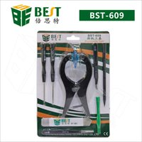 Wholesale High Quality Screwdriver Set - High Quality BST-609 Phone Repair tools 9 Items in 1 Screwdriver Set for iphone 6&iphone 6 Plus +Free shipping