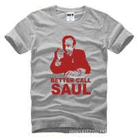 Wholesale Crow Calls - WISHCART Better Call Soul Breaking Bad T Shirt T-Shirt Men Mens 2016 New Short Sleeve Cotton Casual Tshirt Tee Camisetas Hombre