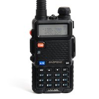 Wholesale Low Price Radio - Retail Lowest Price Walkie Talkie BAOFENG BF-UV5R 5W 128CH UHF+VHF 136-174MHz+400-480MHz DTMF Two Way Radio Portable Radio A0850A