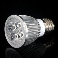 Wholesale ce grow bulb online - E27 W W Led Grow Light Lamp Diammable bulb light For Flower Plant and Hydroponics System AC85 V with CE ROHS