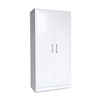 Wholesale Metal Clothes Cabinets - Custom Clothes Storage Metal Cabinets Tall Hinged Double Door Multifunction File Information Steel Locke Equipment Cabinet