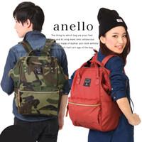 Wholesale Shoulders Handbags For School - Anello Canvas School Backpack For Teenagers New Fashion Colorful Handbag leisure Shoulder Crossbody Bags Vintage Satchel backpack
