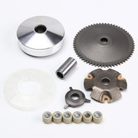 Wholesale Scooter Variator - Wholesale- For GY6 Variator Scooter ATV Roller Front Clutch Set 50cc QMB139 QMA139 8.5 Gram Moped Variator Kit